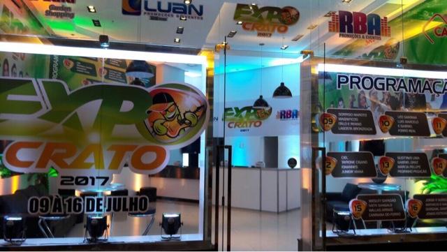 STAND  Loja da Expocrato 2017 abrirá a partir desta segunda-feira no Cariri  Garden Shopping 0a6135edf0