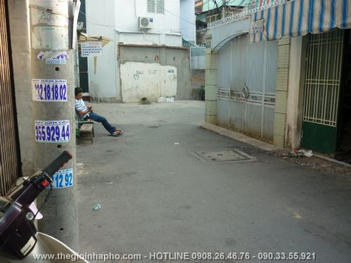 Bán nhà Lạc Long Quân , Quận Tân Bình giá 1, 45 tỷ - NT65