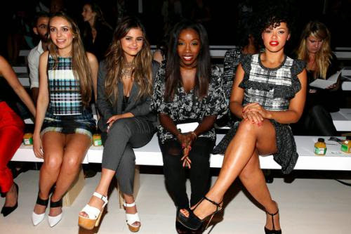 Ybf Celebs Flock To Mercedes Benz Fashion Week Springsummer 2015 Shows In Nyc