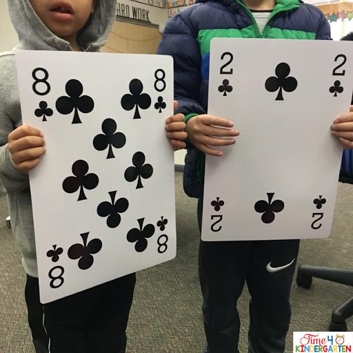 card math games for kids