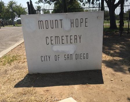 Mt Hope Cemetery San Diego