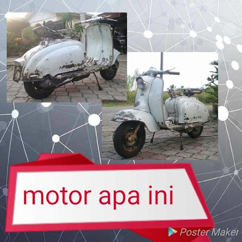 Motor apakah ini adakah model vespa