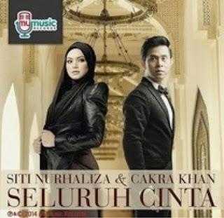 lirik lagu seluruh cinta ost elif indonesia cakra khan feat siti nurhaliza