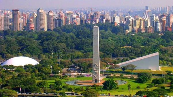 Parque do Ibirapuera, Sao Paulo