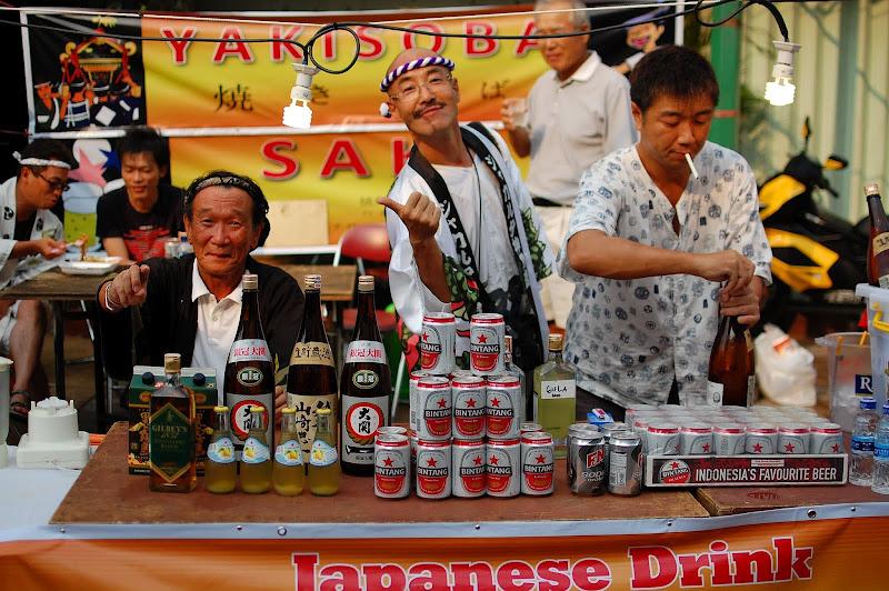 Penjaja Minuman di Ennichisai
