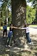 Измеряем дуб в Кинь-Грусти
