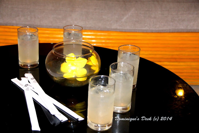 Our welcome drink- Lemongrass juice