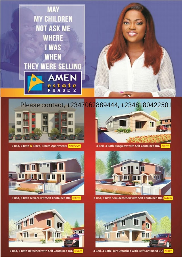 AMEN ESTATE PHASE 2 HOMES