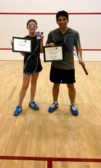 3.5 Consolation Finalists, Emma Supattapone (Champion) and Michael Gonzalez, Brattleboro, March 15th