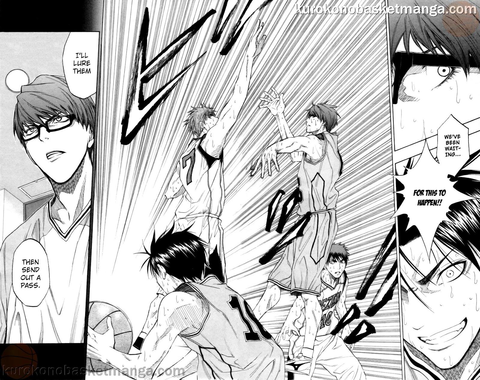 Kuroko no Basket Manga Chapter 87 - Image 18-19