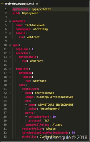 web-deployment