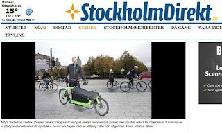 Lastcykelpool Södermalm Sthlm direkt