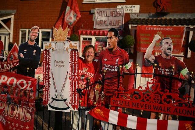 BREAKING: Liverpool win Premier League @lfc