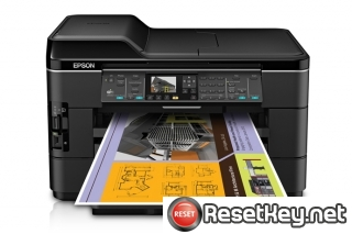 Reset Epson WorkForce WF-7521 printer Waste Ink Pads Counter