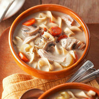Chicken Noodle Soup Cream Cheese Recipes