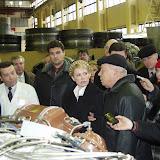 Визит Премьер-министра Украины Тимошенко Ю.В. на ГП Прогресс, март 2005г.