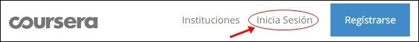 Iniciar sesión en Coursera