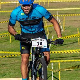 cyclocross by Bert Templeton - Sports & Fitness Cycling ( cyclist, racing, race, cyclocross, cycling, biking, tacing, texas, bike )