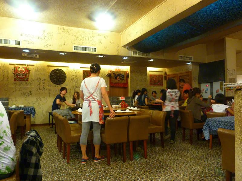 Taipei. Cuisine du Shanxi