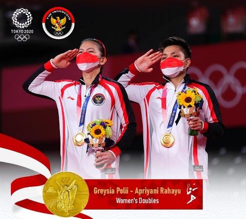 Ketua DPR RI Ucapkan Selamat pada Greysia dan Apriyani Torehkan Sejarah Emas untuk Indonesia