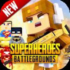 Superheroes Battlegrounds - Pixel battle royale icon