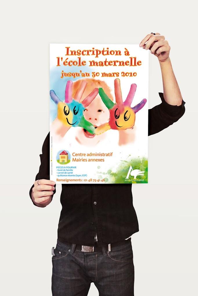 création affiches