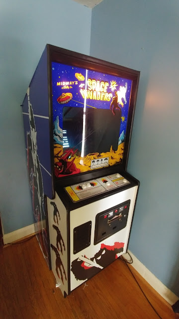 1978 Midway Space Invaders Cabinet