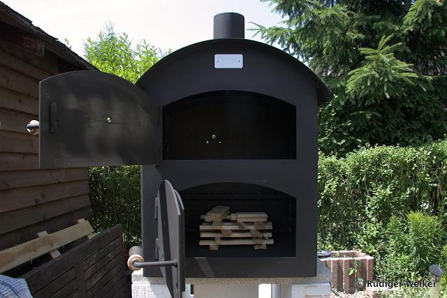 Outdoor Küche Pizza Ofen : Outdoor küche gordi und seine familie