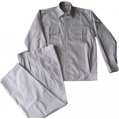 Quần áo bảo hộ lao động vải kaki liên doanh HQ nhiều màu - QAK0015