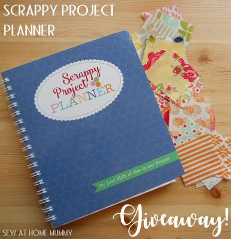 Scrappy Project Planner Giveaway Sew AT Home Mummy
