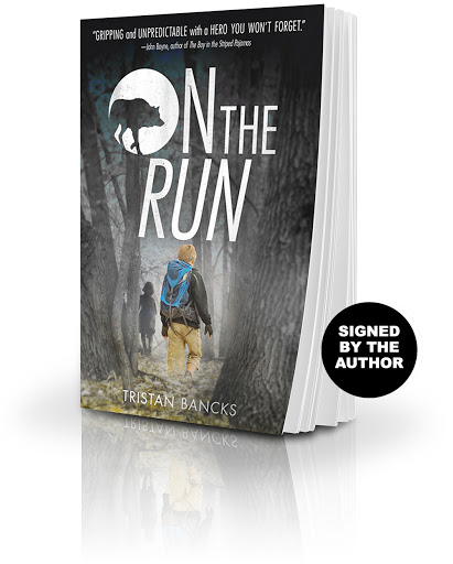 Buy a copy of On The Run, signed by the author Tristan Bancks