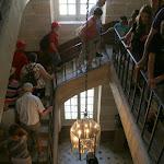 Château : escalier