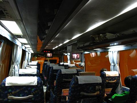 北海道北見バス「高速えんがる号」 2053 遠軽へ向けて走行中
