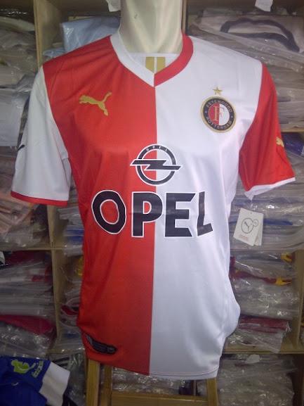 Jual Jersey Feyenoord Home Terbaru 2014