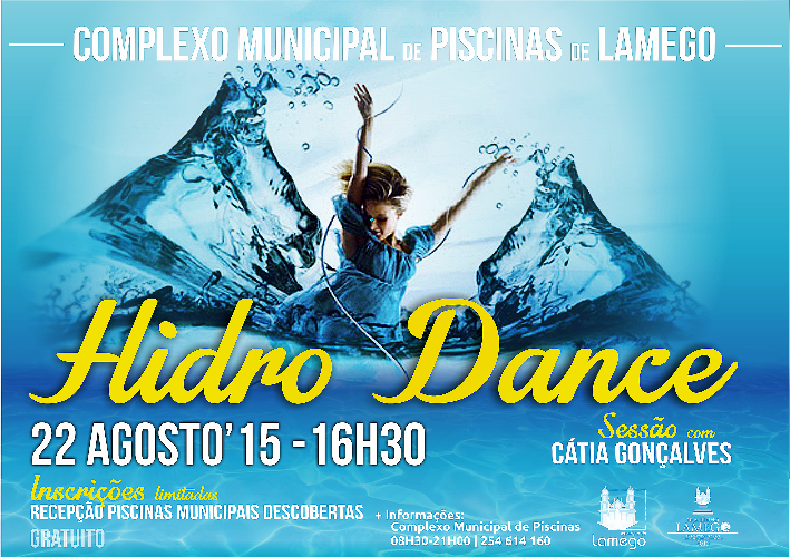Piscinas de Lamego oferecem modalidade inédita que mistura dança e… água