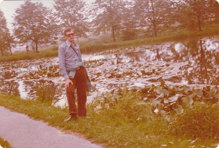 Min far og jeg på tur - Tjekkoslovakiet 1980
