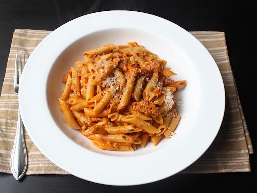 Tuna cream recipe pasta