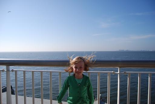 Op de boot terug naar huis