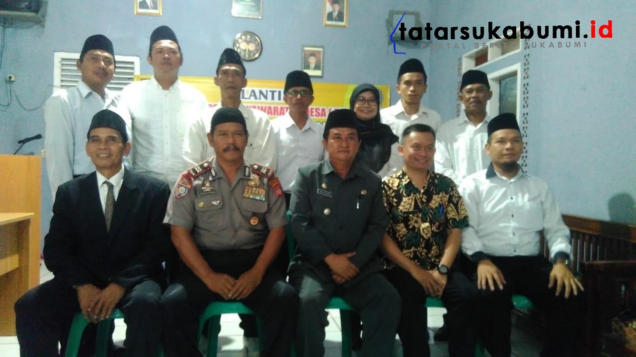 Pelantikan BPD Cimanggu Periode 2019 - 2025