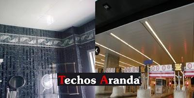 Precio economico de techos registrables Madrid