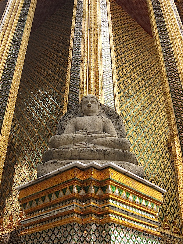 Buddha sculpture at the Bangkok Grand Palace