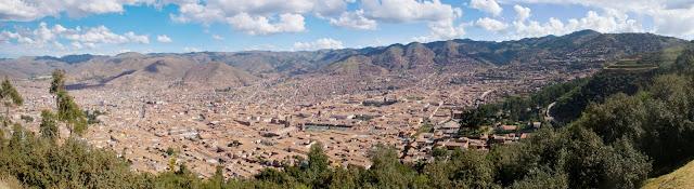 Cuzco desde Sacsayhuamán
