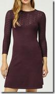 Warehouse Knit Dress - Black Also