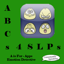 ABCs 4 SLPs: A is for Apps and Autism - Emotion Detective Review image