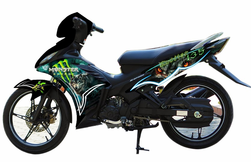 Airbrush Viet Nam - Your Living Arts | Yamaha T150 / T135 - mx king