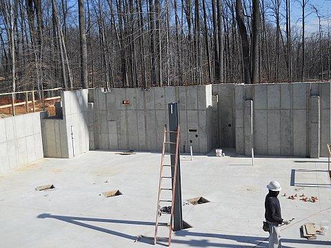 Temple main floor construction 4