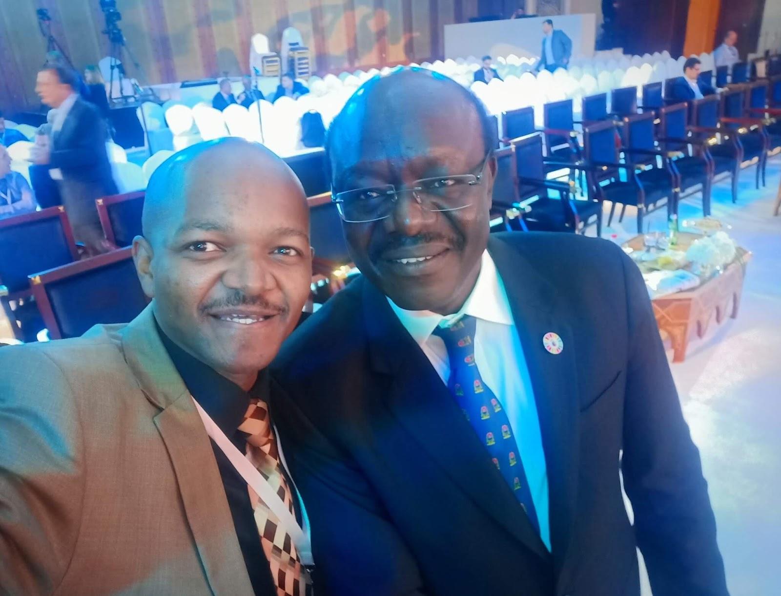 Dr. Mukhisa Kituyi at a trade conference. PHOTO | BNC