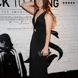 WWW.ENTSIMAGES.COM -   Lucie Jones  arriving    at      THE UK PREMIERE OF (JACK TO A KING) THE SWANSEA STORY at EMPIRE, LEICESTER SQUARE London September 12th 2014.The movie of Swansea City's rise from near extinction to the top of the Premier League                                                 Photo Mobis Photos/OIC 0203 174 1069