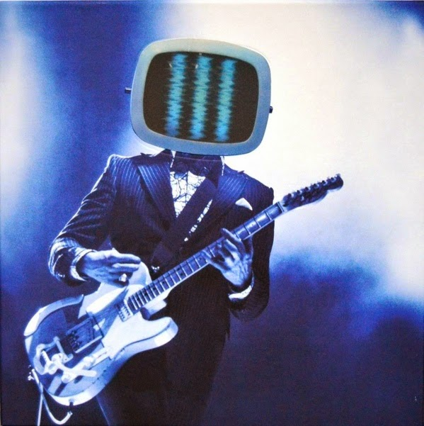 Cover of the exclusive Third Man Records vinyl release of Jack White's Live From Bonnaroo