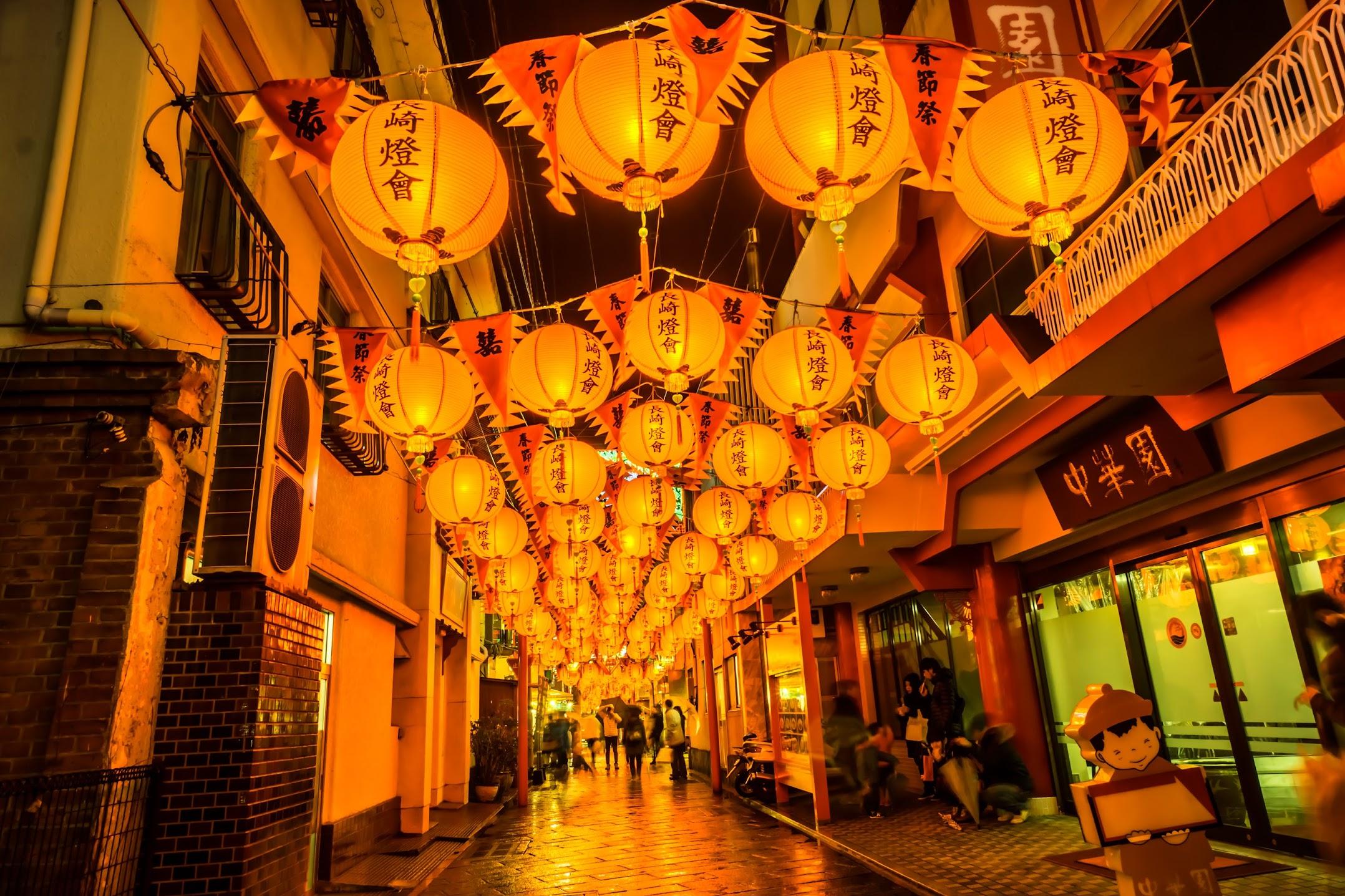 長崎ランタンフェスティバル 中華街3